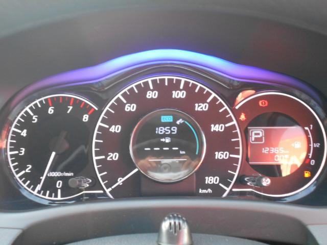 メ−タ−は見やすいファインビジョンメ−タ−を採用♪燃費に関する情報等様々な表示で快適なドライブをサポ−トします♪