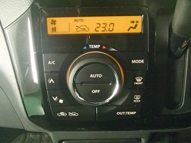 フルオートエアコン!温度を設定すれば自動的に吹き出し口や風量が変わります。
