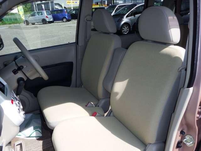 フロントシートの画像です。