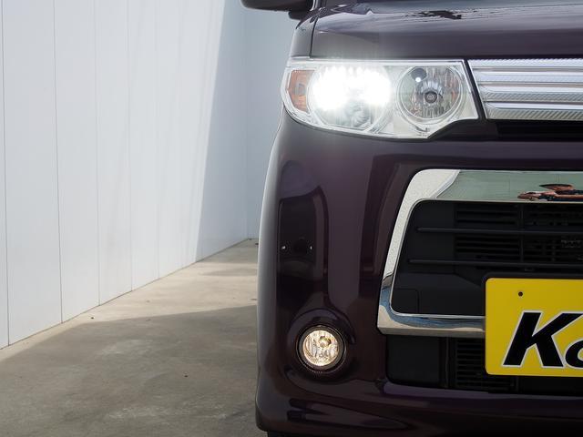 HIDヘッドライト付!HIDヘッドライトはとっても明るく美しい!そして省電力でエコにも!夜のドライブがより楽しく安全に。