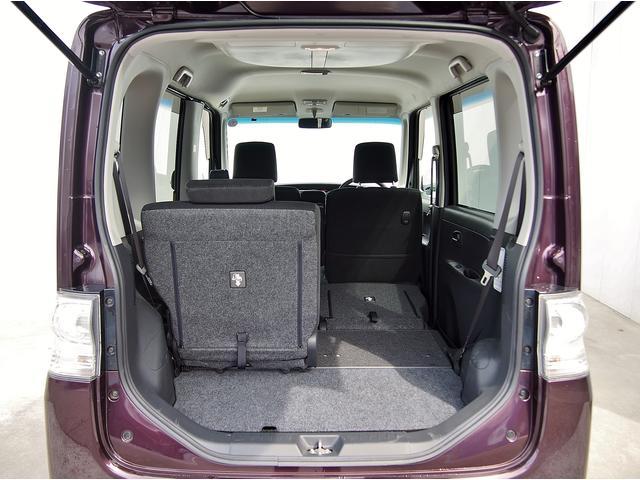 便利な5:5可倒式シートです。収納と乗車人数のバランスに優れています。
