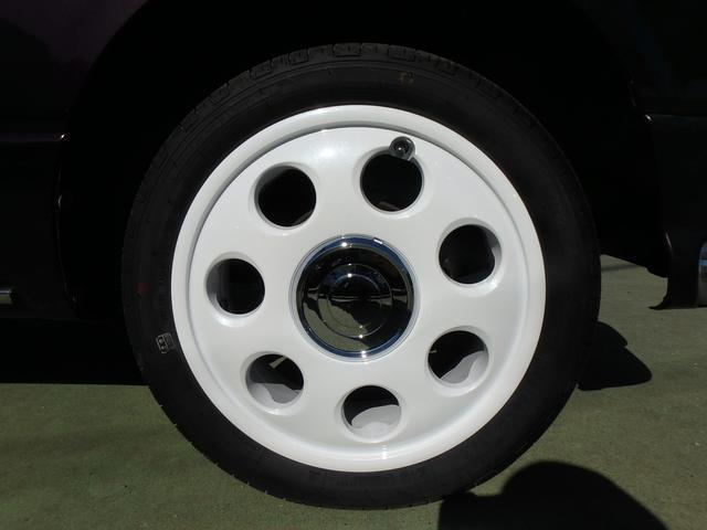 ミラジーノによく似合うおしゃれな新品14インチアルミホイール・タイヤセット付きです!