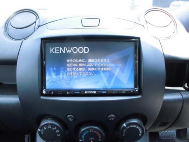 ケンウッドのメモリーナビを装備しております