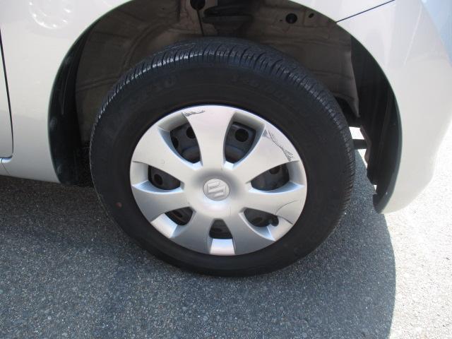 前のタイヤの画像です。