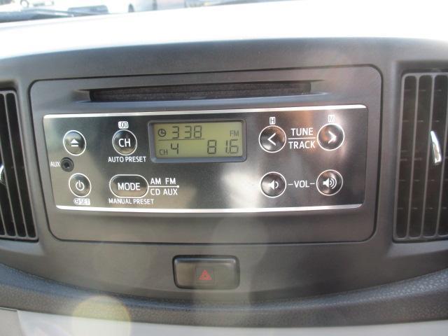 CDラジオです。
