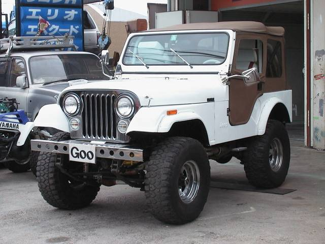 CJ−5 レザー 4WD 左H