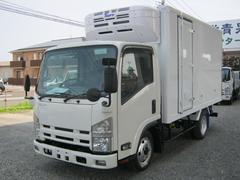 エルフトラック2t標準セミロング4WD 低温冷凍車