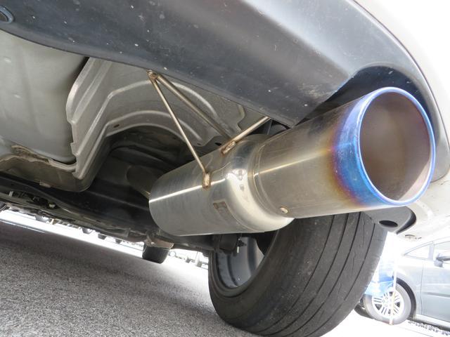 フルチタンスポーツマフラーは車検対応です