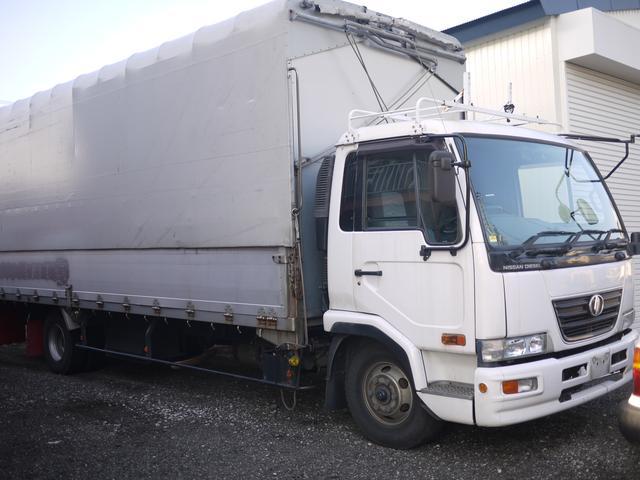 UDトラックス コンドル 6.4ディーゼル ターボ 幌ウィング (なし)
