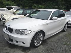 BMW118i 社外HDDナビ プッシュスタート