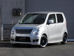 ワゴンRFX FEEL EXシリーズ エアロ 車高調 ローダウンAW