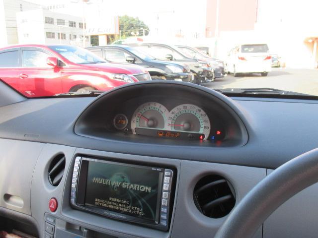 メーターはダッシュボードの中央に有ります。目線を下に落とさず運転できるので、比較的、安全と言われております。見やすいデジタルメーターです。