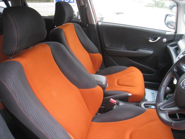 フロントシートかなりきれいです!