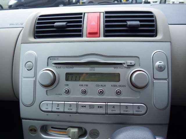 CDコンポが装備されています。