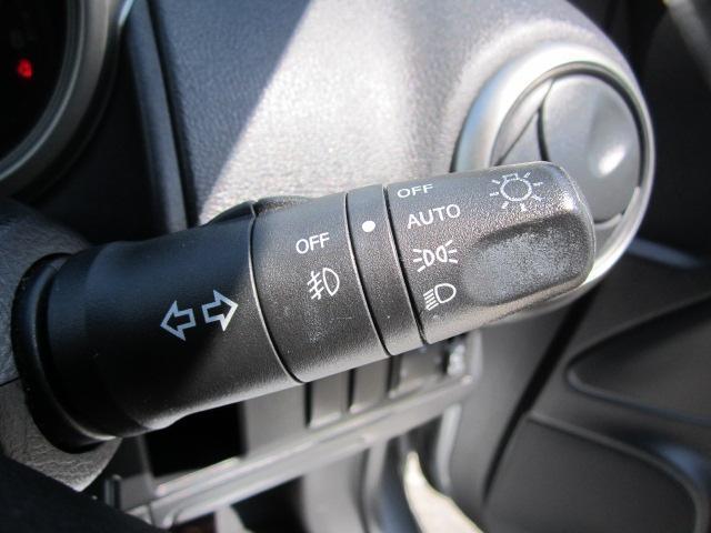 オートライトが装備されていますので、ライトの消し忘れも心配いりません。