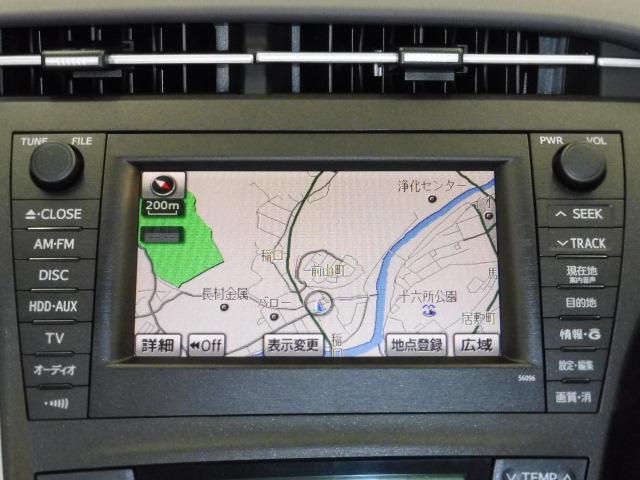 純正カーナビです、HDDで地図検索もスピーディーです。