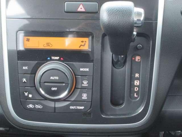 ボタンひとつで設定した室内温度に出来る便利なフルオートエアコン