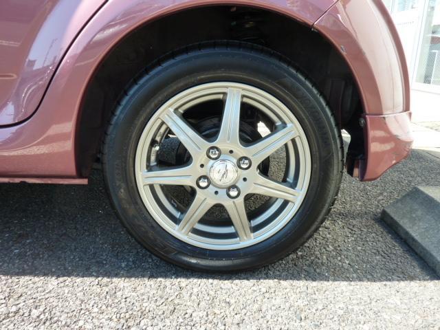 14インチアルミホイール  タイヤサイズ:155/65R14