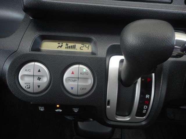 オートエアコン搭載ですので、簡単操作で室内を快適な温度にしてくれますよ♪