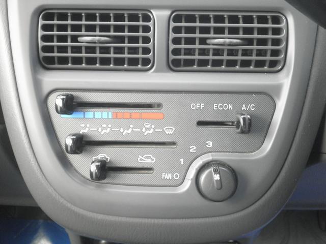 空調スイッチ類です。どなたでも操作しやすい様に考えてあります。