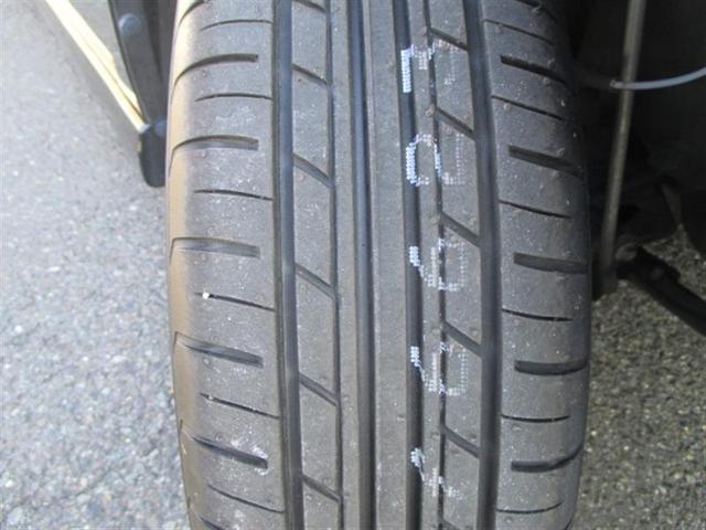 タイヤの溝もしっかり残っています。