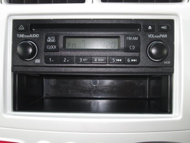 純正CDチューナー装備★下の小物入にはCDケースも入れていただけます☆