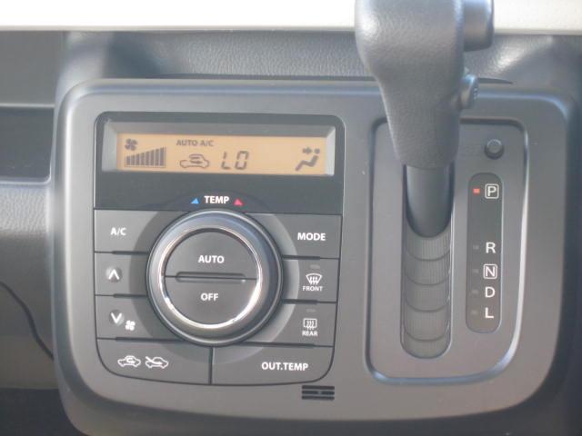 オートエアコンで温度設定だけであとは自動で室内快適空間。