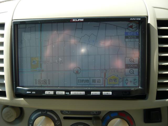イクリプス製のスタンダードな地デジワンセグTV機能付SDナビ。地図機能の他テレビの視聴、ラジ、CD再生と快適ドライブの強い味方ですね