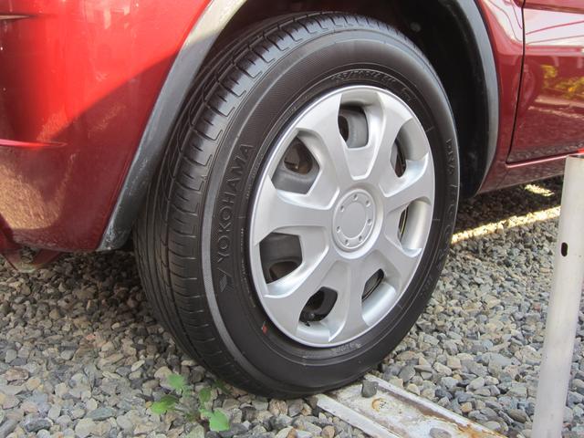 タイヤの溝も残っております