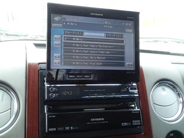 サイバーHDDナビ(AVIC−VH009) 5.1chサラウンドサウンド VGAインダッシュモニター HDDミュージック CD DVD 地デジTV バックカメラ  ETC