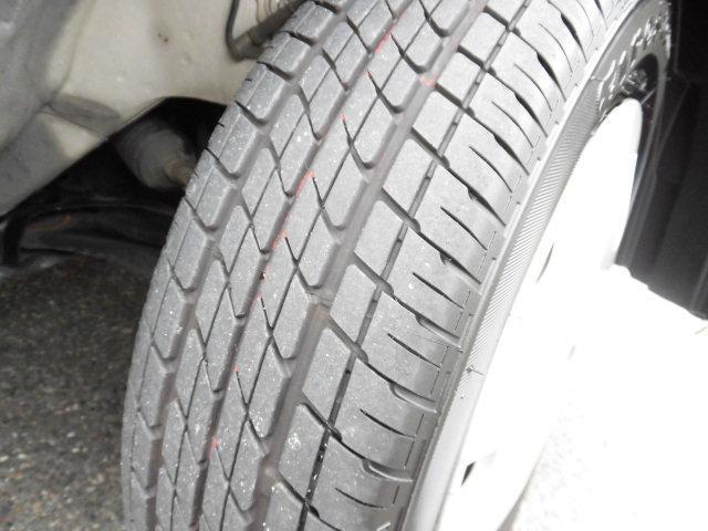 タイヤの残り溝をご確認ください