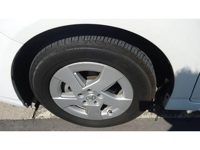 タイヤの溝もかなりあります