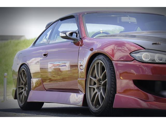 K's S15フェイス LSD 全塗装 追加メーター 車高調(2枚目)