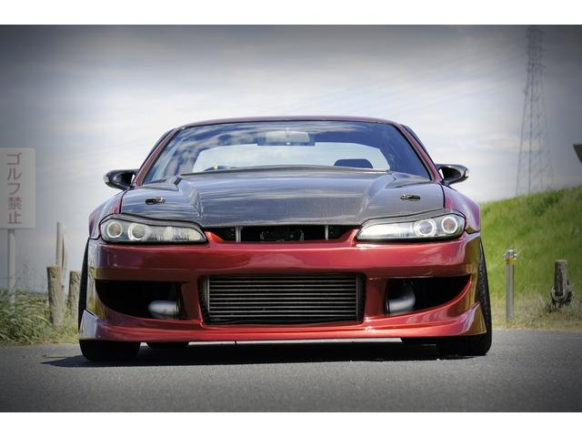 K's S15フェイス LSD 全塗装 追加メーター 車高調(3枚目)