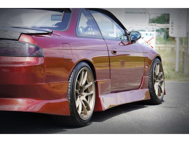 K's S15フェイス LSD 全塗装 追加メーター 車高調(10枚目)