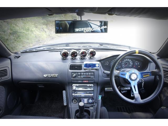 K's S15フェイス LSD 全塗装 追加メーター 車高調(13枚目)