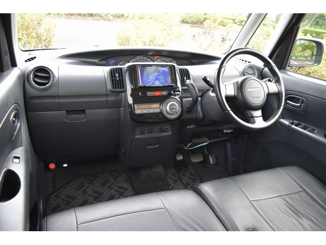 広い車内はとっても快適にお過ごしいただける空間となっております