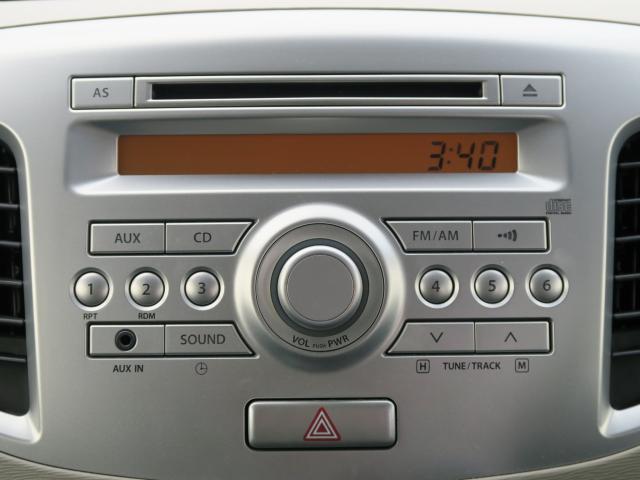 純正CDオーディオ装備♪