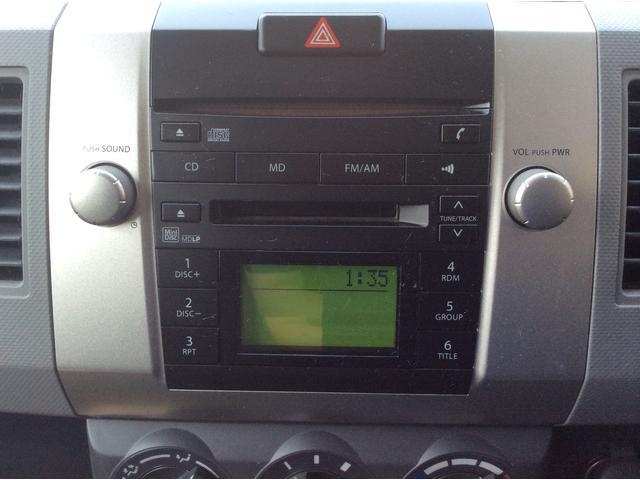 純正CDMDです。ラジオも聴けます。