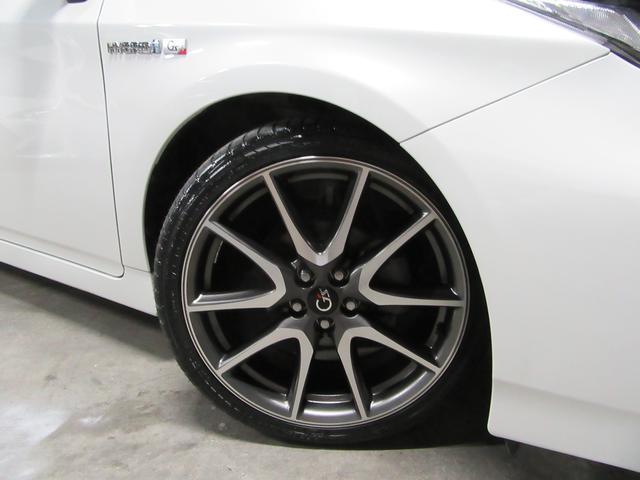 215/40 18 新品タイヤ&G'sアルミホイール!4本ガリ傷ありません