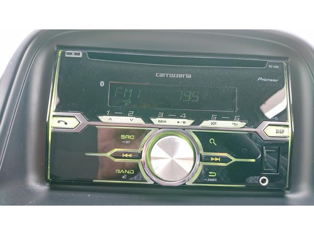 CD AM/FMラジオ付きです。型番Carrozzeria FM−4100
