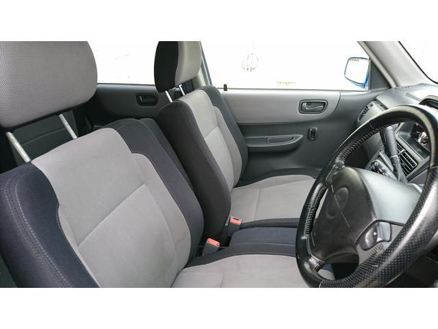 シートの座り心地は、すごくいいです。運転していても疲れにくいですよ。