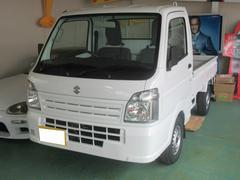 キャリイトラックKC エアコン パワステ 3方開 4WD 届出済未使用車