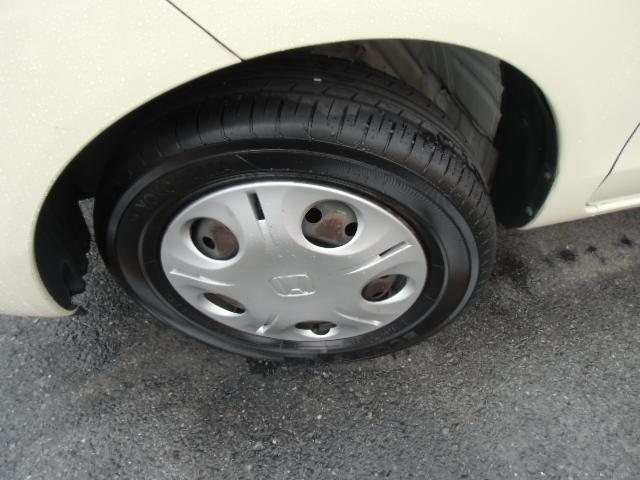 タイヤの溝もまだまだあります!