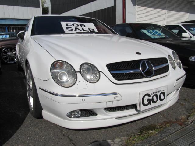 メルセデス・ベンツ CL CL600 サンルーフ ローダウン (検...