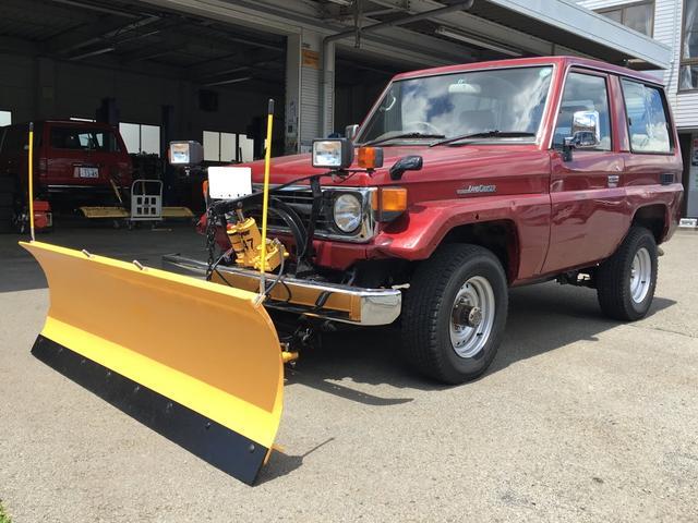 トヨタ メイヤースノウプラウ付 ディーゼル 4WD