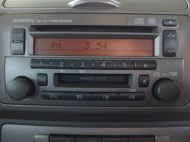 ■純正CD、MDオーディオ付き■旅のお供に必須のオーディオ付です!