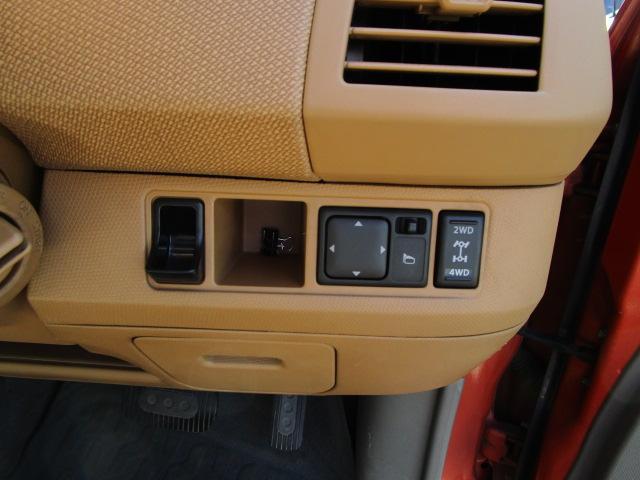 4WD切り替えスイッチ!オートミラースイッチ!