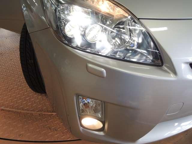 LEDライト付きなので視認性が良く夜道も安心です