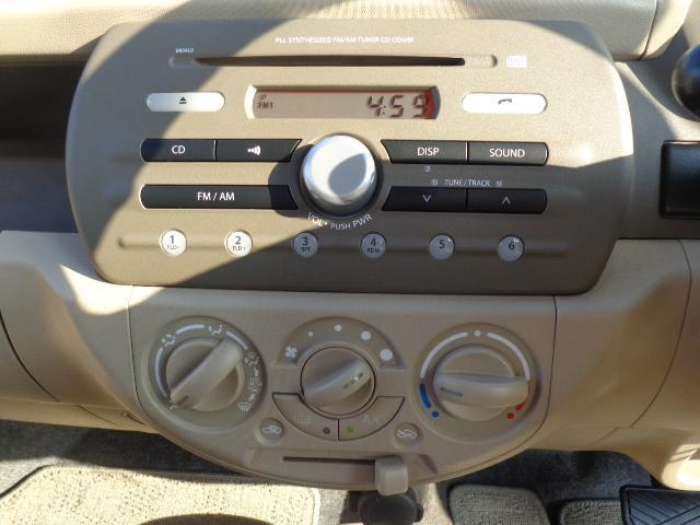 純正CDステレオ!!音楽を聴きながら楽しいドライブを!!